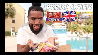 AMERICAN TRYING BRITISH SWEETS