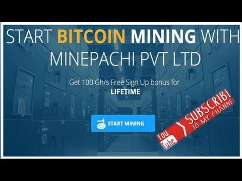 BTC Minepachi Sign Up /Free 100 Gh - смотреть онлайн на Hah Life