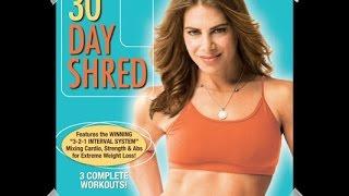 30 Day Shred Jillian Michael: nivel 1/30 day shred: level 1 Routine jillian michaels