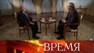 Эксклюзивное интервью: Н.Назарбаев о мировых финансах, антироссийских санкциях Запада и В.Путине.