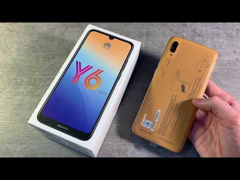 Смартфон Huawei Y6 2019 2/32Gb коричневый - Видео
