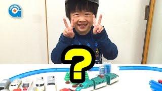 ガチャガチャの東京コレクション【がっちゃん5歳】カプセルプラレールのジオラマ