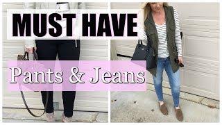 Must Have Jeans & Pants | Fashion Basics