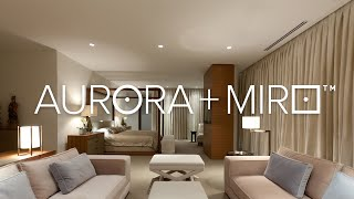 Aurora + Miro – Easy on the eyes and the budget.