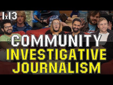 Community - 1x13 Investigative Journalism - Group Reaction