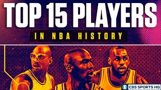 Avery Johnson, Rip Hamilton and Raja Bell discuss the Top 15 NBA Players of All-Time | CBS Sports HQ