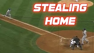 MLB Stealing Home Plate Compilation