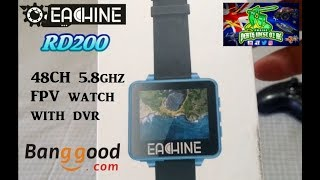 "EACHINE RD200 2"" LCD Monitor 5.8Ghz FPV Watch in built DVR"