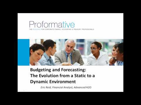 Financial Planning, Budgeting and Forecasting Webinar - YouTube