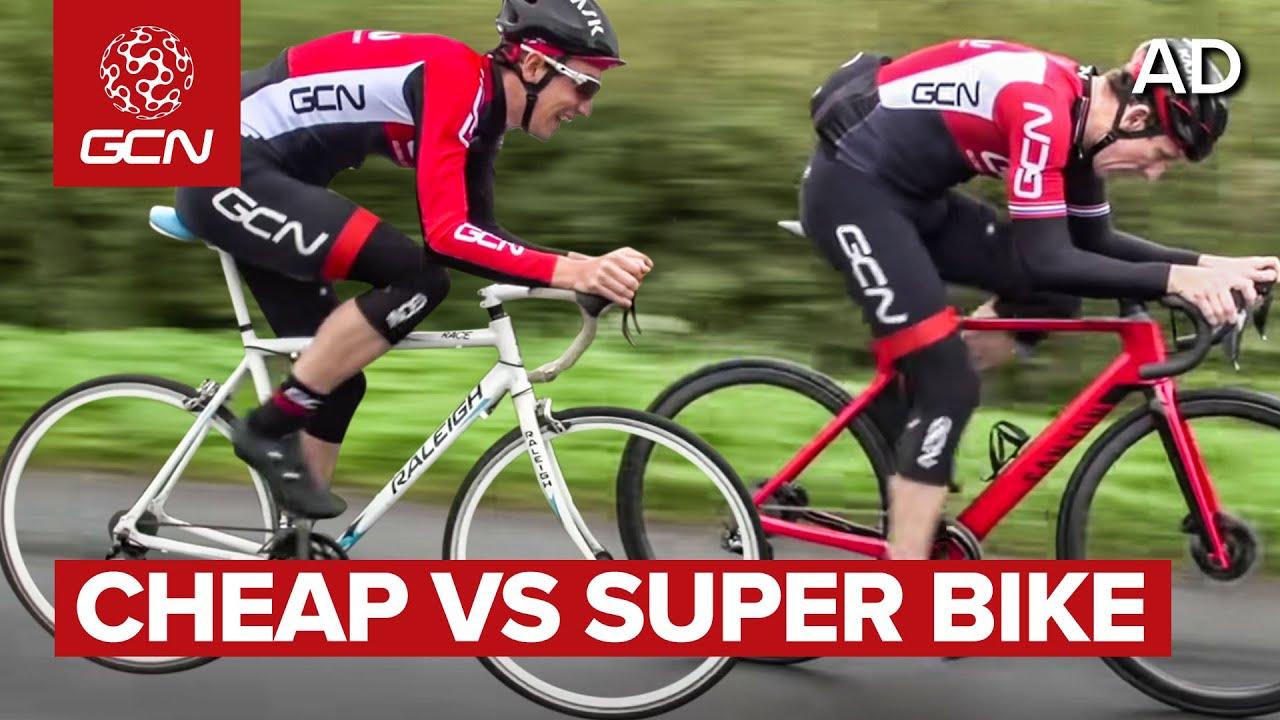 השוואה בין אופני כביש זולים ליקרים מאוד | מה ההבדל?