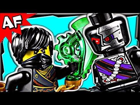 Vidéo LEGO Ninjago 70720 : Le Planeur Scie