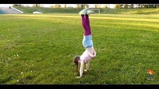 Вызов принят!! Challenge. Gymnastics.10 элементов на свежем воздухе на время!