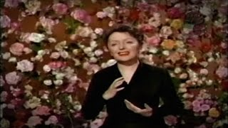 Édith Piaf en México: La Vie en Rose (Francés/Español 1956)