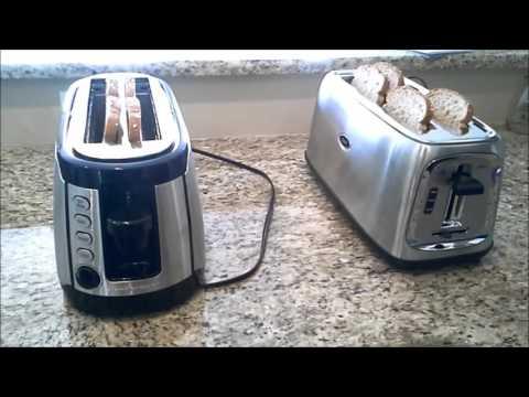 Hamilton Beach vs OsterToaster 4 slice toaster