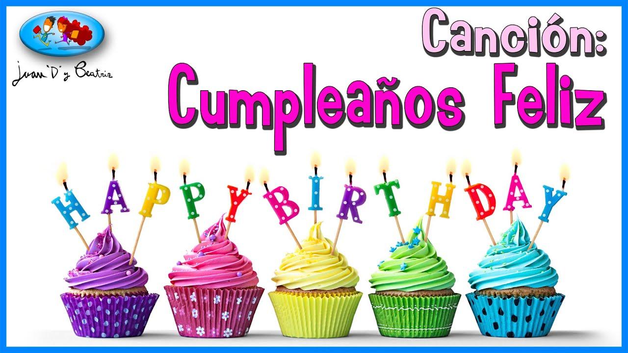 """Cumpleaños Feliz - Juan """"D"""" y Beatriz ♪♪"""