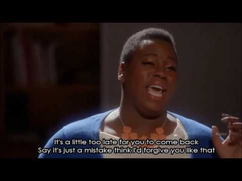 Glee - If I Were A Boy (Full Performance With Lyrics)