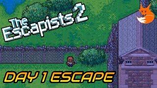 CENTER PERKS 2.0 DAY 1 ESCAPE (Perimeter Breakout)   The Escapists 2 [Xbox One]