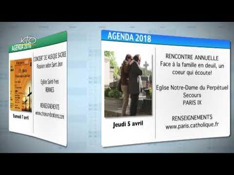 Agenda du 26 mars 2018
