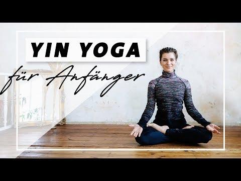 Yin Yoga für Anfänger   Entspannung Beweglichkeit & Selbstliebe   Faszien dehnen