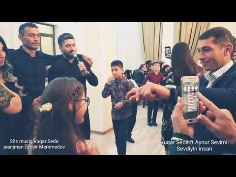 Download Vuqar Seda ft Aynur sevimli Sevdiyin insan ( Zaqatala toyu) Mp4 HD Video and MP3