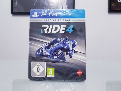 Ride 4 Special Edition Ps4 unboxing