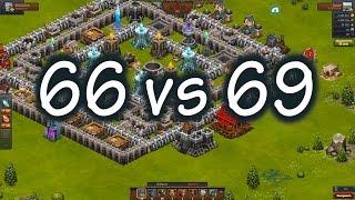 Битва за трон. Рубилово 66vs69   Throne rush. Fighting 66vs69.
