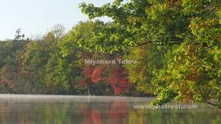 屈斜路湖の動画素材, 4K写真素材