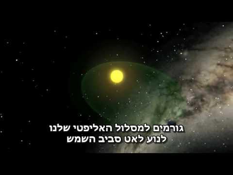 שנה על כדור הארץ - הסבר אסטרונומי נפלא!