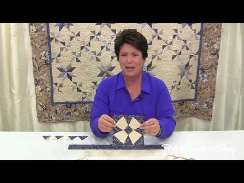 Gerri Robinson of Planted Seed Design teaches you how to use the Tri-Recs Tool - Fat Quarter Shop