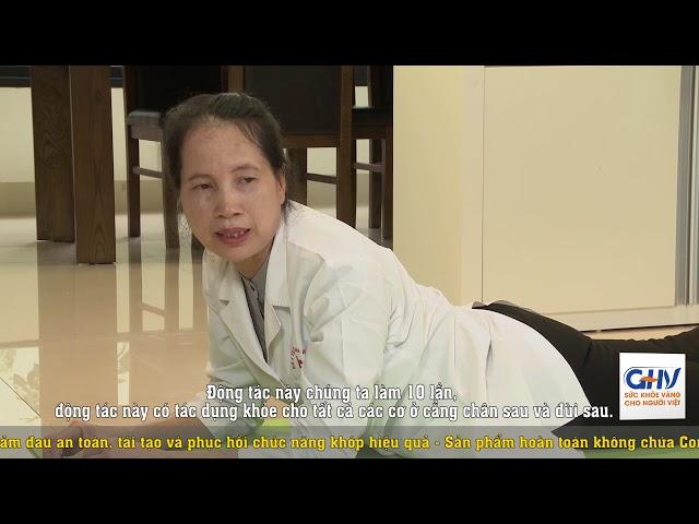 Bài tập tại nhà cho người bị bệnh khớp - Bài tập 7: Cứng các khớp ngón tay (do viên đa khớp dạng thấp)