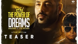 THE POWER OF DREAMS - Badshah ft. Lisa Mishra | Teaser  IMAGES, GIF, ANIMATED GIF, WALLPAPER, STICKER FOR WHATSAPP & FACEBOOK