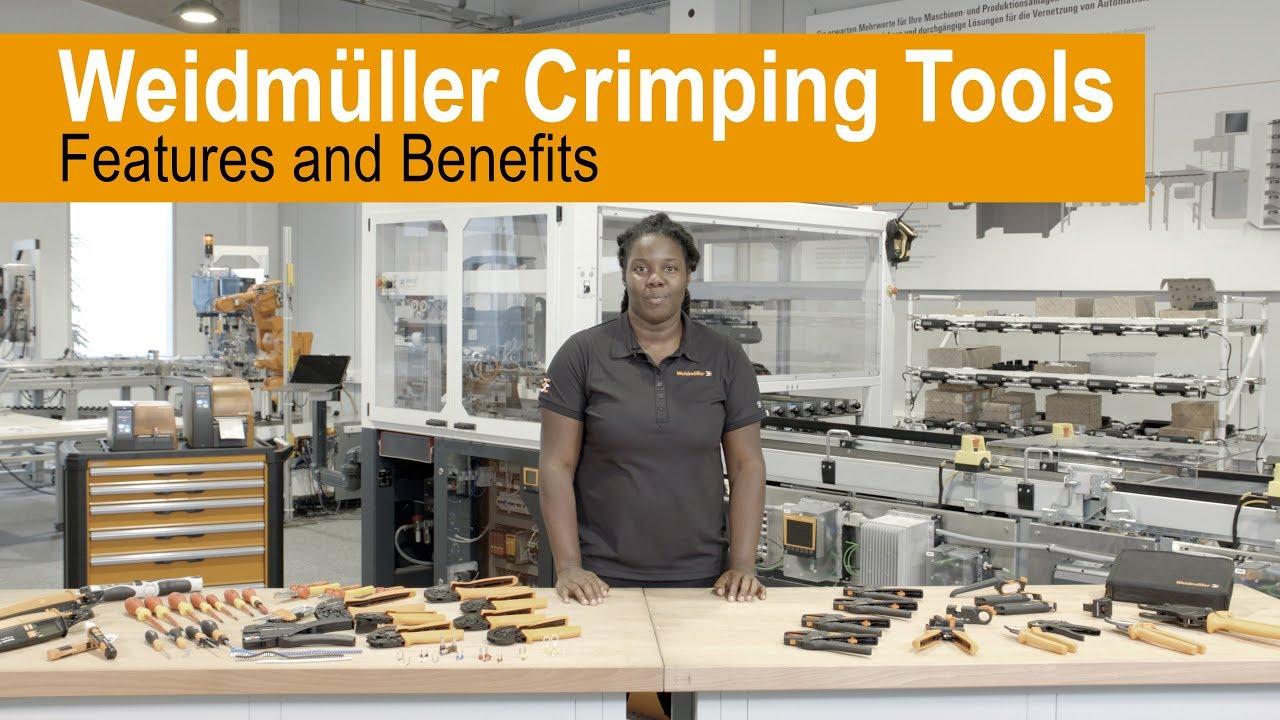 Weidmüller Crimping Tools