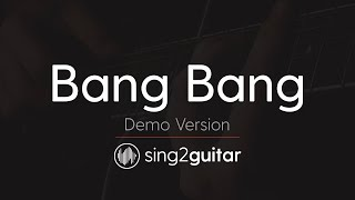 Bang Bang (Acoustic Guitar Karaoke demo) Jessie J, Ariana Grande & Nicki Minaj