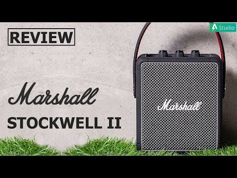 Review Marshall Stockwell 2| Chiếc loa bluetooth di động nhỏ nhất nhà Marshall