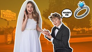 I Got Married To My CRUSH for 24 HOURS CHALLENGE *ROMANTIC WEDDING*💍💕|Walker Bryant @Piper Rockelle