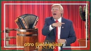 Peña le canta a Trump   El privilegio de mandar
