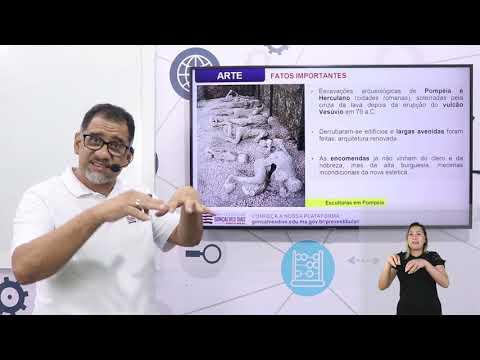 Aula 03 | Neoclassicismos e Romantismo na Pintura - Parte 01 de 03 - Arte