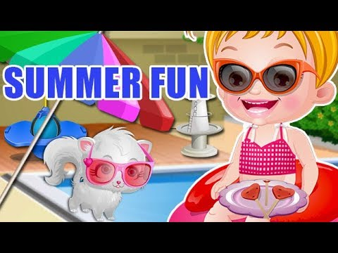 Video of Baby Hazel Summer Fun
