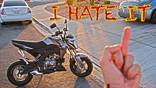 5 THINGS I HATE ABOUT MY KAWASAKI Z125 PRO   GROM SQUAD