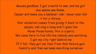 MACKLEMORE & RYAN LEWIS   CAN'T HOLD US FEAT. RAY DALTON(lyrics)