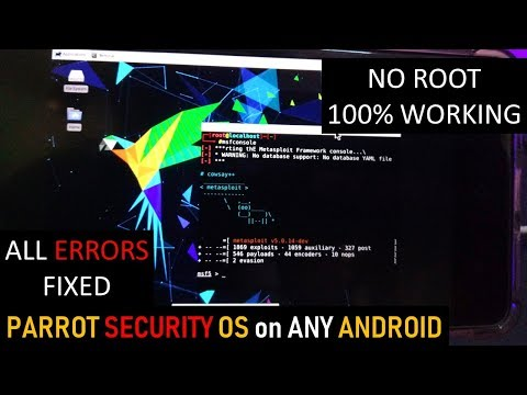 Android phone hacking using Parrot os/Kali Linux [2019] - TechnO