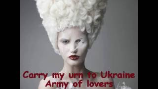 Carry my Urn to Ukraine Army of Lovers