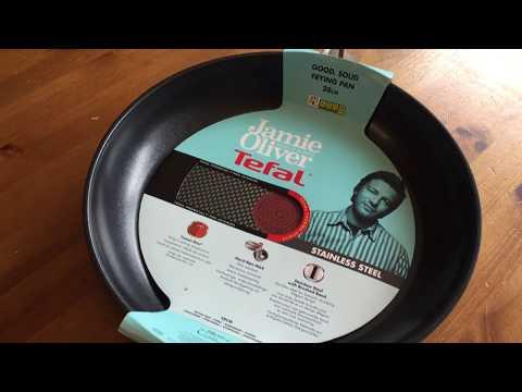 Ersteindruck: Tefal Jamie Oliver Edelstahl Pfanne 28 cm