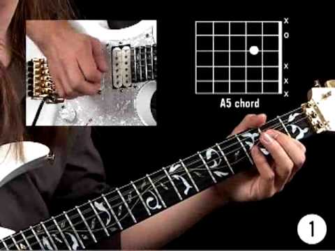 Rock Guitar Lessons for Beginners * Power Chords Rhythm