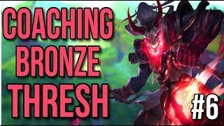 Coaching a Bronze Thresh - League of Legends