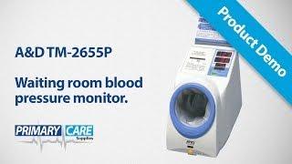 Video Giới thiệu máy đo huyết áp chuyên sâu tự động AND TM-2655P