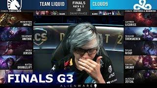 TL vs C9 - Game 3 | Grand Finals S9 LCS Summer 2019 PlayOffs | Team Liquid vs Cloud 9 G3