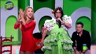 Ana Morgade regala a Ximena Córdoba la versión flamenca del weather