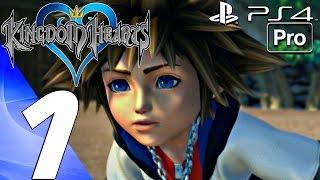 Kingdom Hearts 1 HD - Gameplay Walkthrough Part 1 - Prologue (PS4 PRO) KH 1.5 + 2.5 - dooclip.me