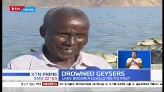 Drowned Geysers: Lake Bogoria's hot springs fading fast